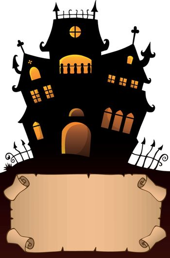 Small parchment and haunted mansion 4