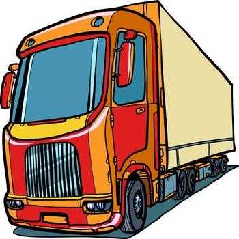 truck. freight traffic