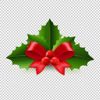 Christmas Holly Berry Transparent Background