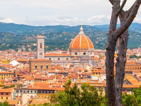 Santa Maria del Fiore - Cathedral in Florence, Tuscany, Italy