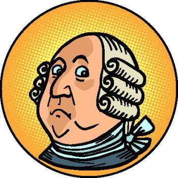 President Benjamin Franklin, historical figure, portrait