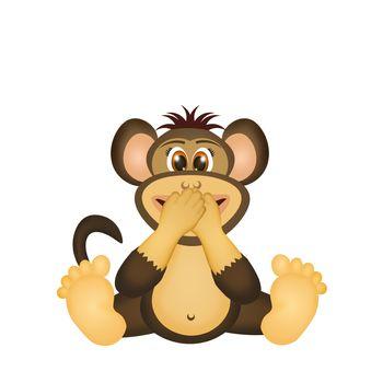 monkey do not speak