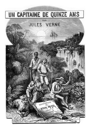Extraordinary Journeys of a Captain of Fifteen Years, by Jules V