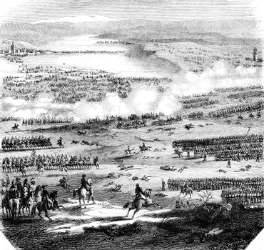 The Battle of Austerlitz, figured after the plans and drawings p