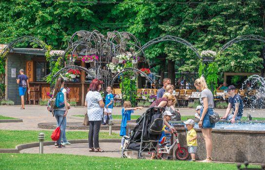 Gorky Park in Odessa, Ukraine