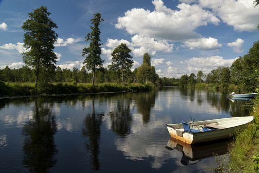 The Bolman river near Nottja