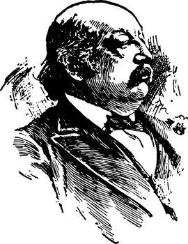 Benjamin F. Butler vintage illustration
