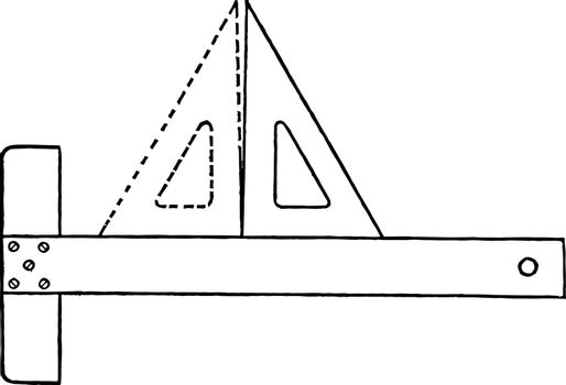 Triangle Accuracy Test using T to square T to square in position