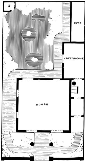 Plan of Detached Villa and Garden semi to detached residences vi