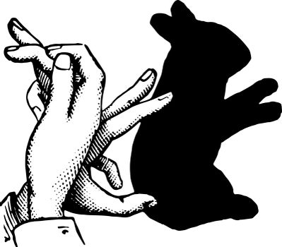 This picture represents Rabbit vintage engraving.