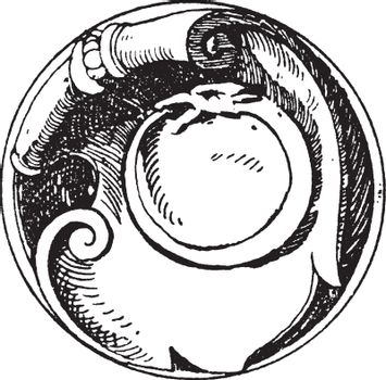 Serpent Symbol is a snake signifying the essence of eternity, vi