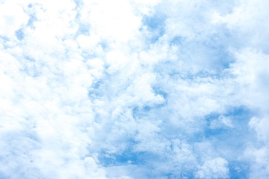 The sky in sunny summer weather, a cloudy background