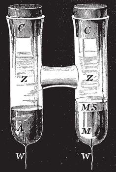 Clark's Standard Cell, vintage illustration