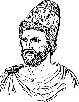 Ulysses vintage illustration.