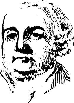 Francis Lewis, vintage illustration