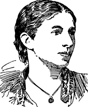 Mary Augusta Ward, vintage illustration