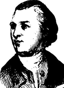 William Paca, vintage illustration