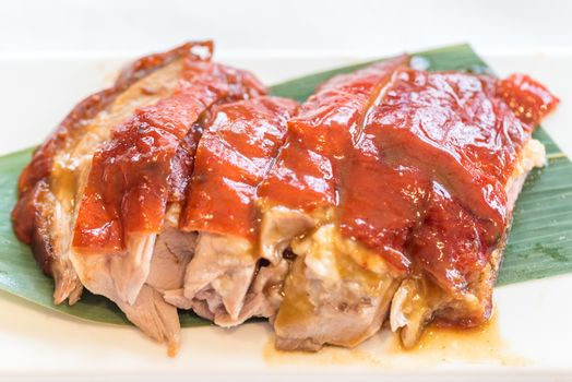 Chinese style BBQ grilled duck - Grilled Chinese groumet cuisine
