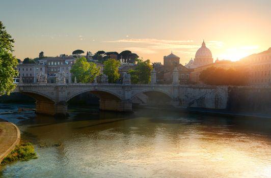 Vatican and bridge