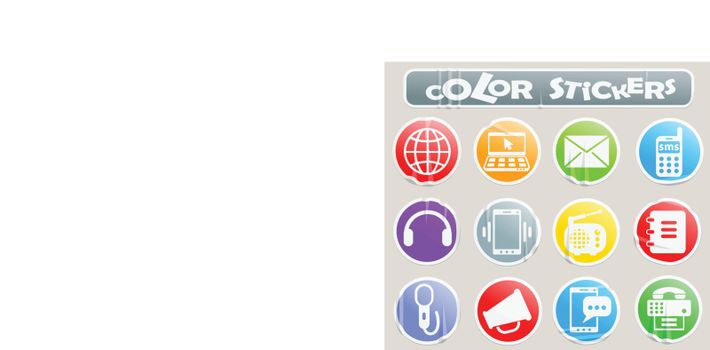 communication professional web icons for your design