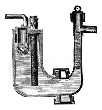 Borchers apparatus for the preparation of sodium by electrolysis