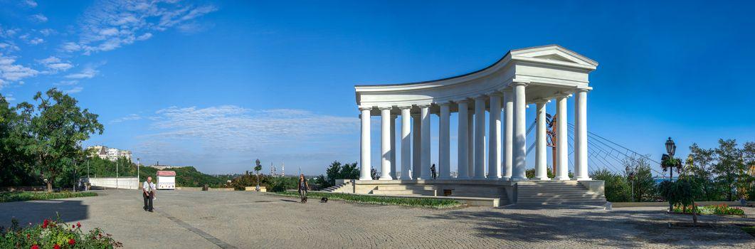Restored Colonnade in Odessa, Ukraine