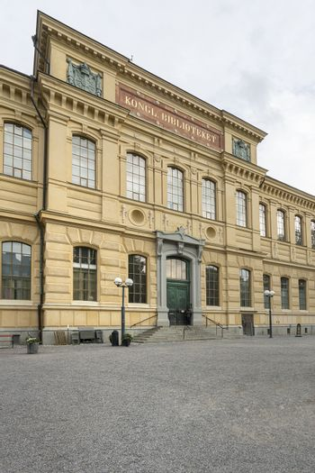Swedish National Library in Stockholm