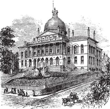 State House or Massachusetts State House or The New State House,