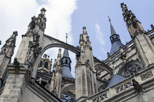 St Vitus Cathedral, Prague.