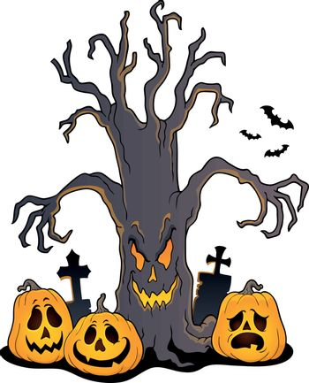 Spooky tree topic image 5