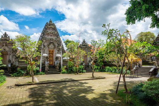 Puri Kantor temple in Ubud, Bali, Indonesia
