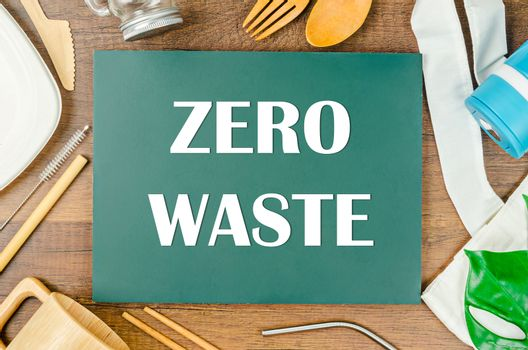 Zero waste concept.