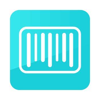 Barcode vector icon