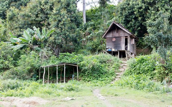 Simple house for the poor