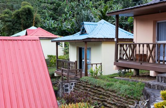 Housing for tourists on Madagascar