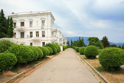 Courtyard of the Livadia Palace