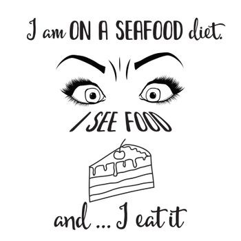 Funny quote about diet