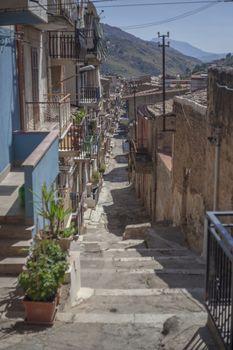 Sicilian village houses #5