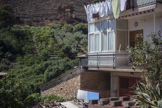Sicilian village houses #3