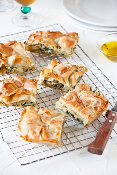 Homemade Greek Spanakopita