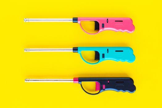 Gas lighter gun for gas-stove