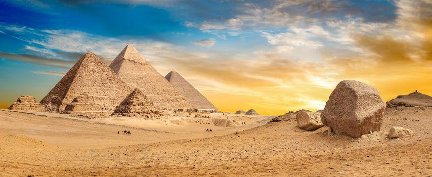 Egypt desert panorama