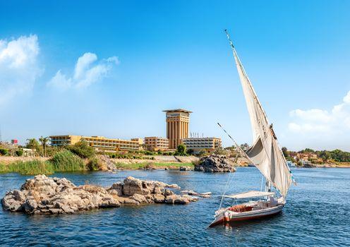 View of Aswan
