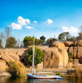 Coast in Aswan