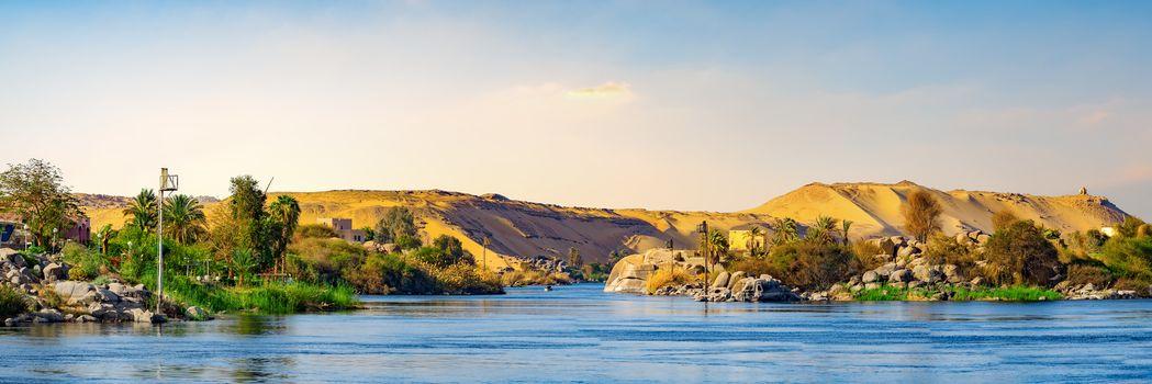 Panorama of Great Nile