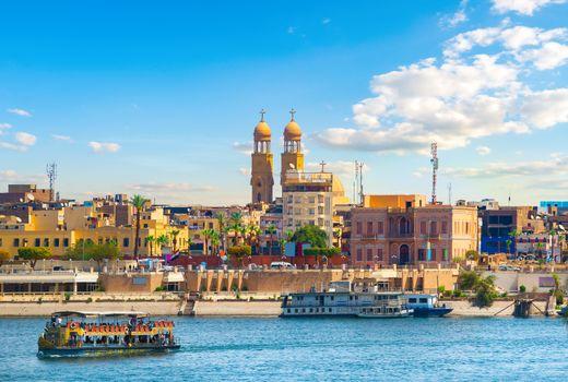 Ships in Aswan