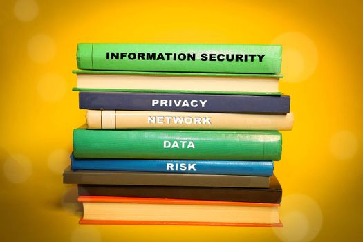 Information Security themed books - Network and privacy