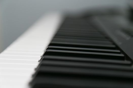 keyboard keys shot across the keyboard keys