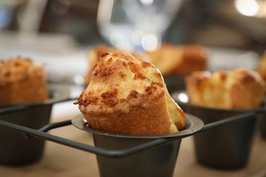 British food - Yorkshire Pudding, British style popover