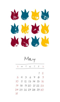 Calendar 2020 months May. Week starts Sunday